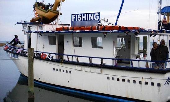 Enjoy 51' Miss Pass-a-grille Trawler Fishing Trips In Saint Pete Beach, Florida