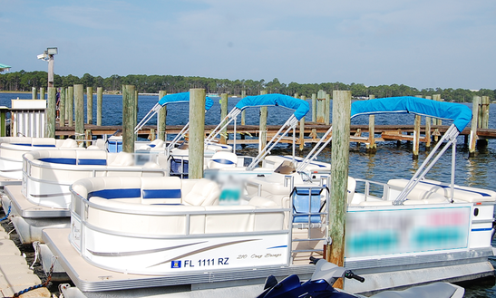 Rent A Sunset Bay Pontoon Boat In Panama City