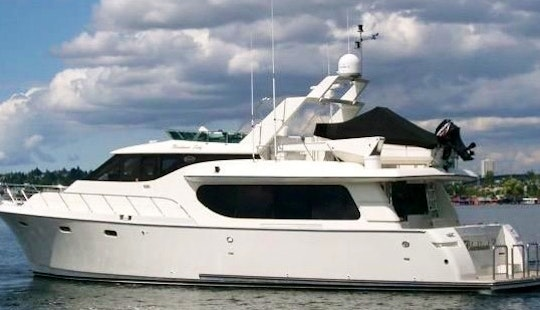 Charter A 64' Motor Yacht In Seattle