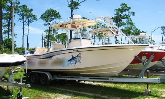 Fishing Charter On 25' Grady White Center Console In Pensacola, Florida