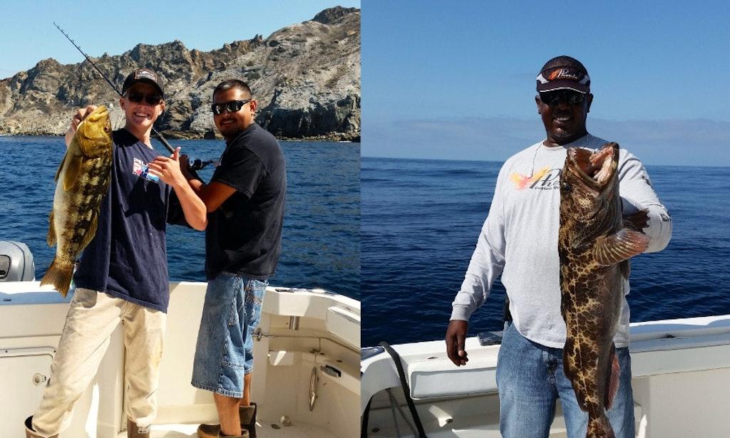 Deep sea fishing charters in marina del rey california for Deep sea fishing california