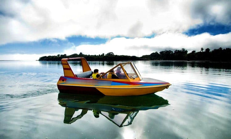 15-Seater Jet Boat Tour in Jackson Bay