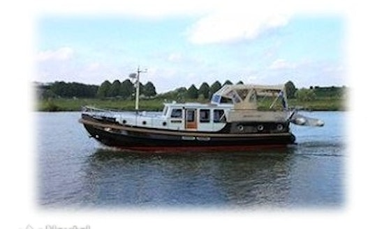 Charter 43' Palatina Linssen Classic Sturdy 400 Ac Motor Yacht In Saarlouis, Saarland