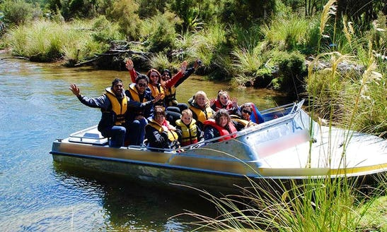 Jet Boat Tour In Fiordland National Park, New Zealand