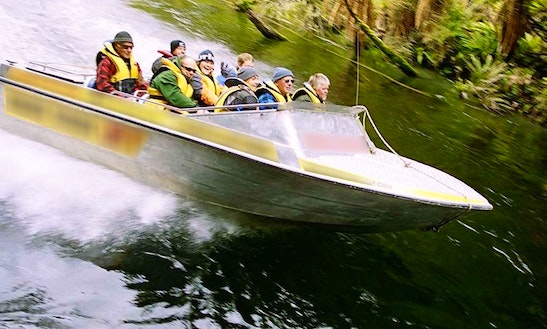 Bowrider Charter In Fiordland National Park, New Zealand