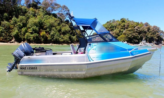 Self Drive Boat Hire In Nelson, New Zealand For Fishing, Diving Or Family Fun