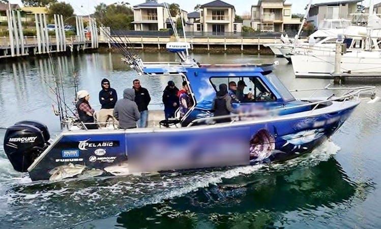 "Fishing Charter on 28ft ""Jeffrey"" Boat in Carrum, Australia"