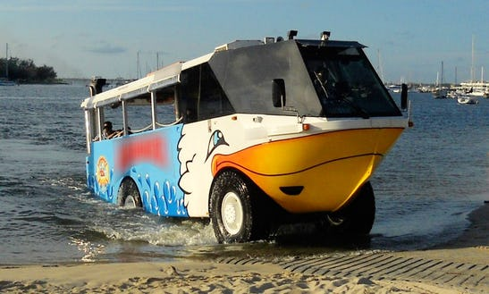 'aquaduck' Boat Tours In The Gold Coast