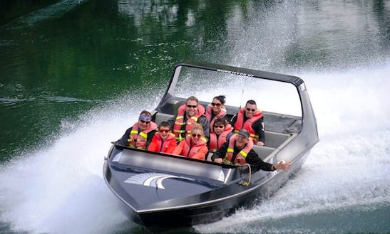 Jet Boat Scenic Safari Tour On Waikato River