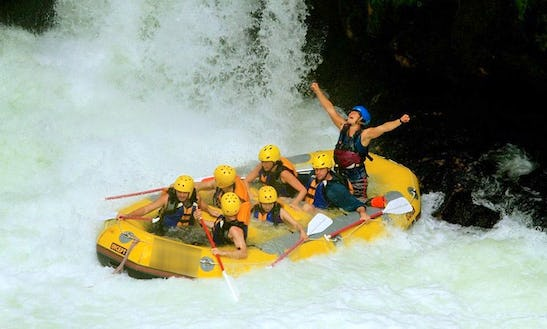 Whitewater Rafting In Okere Falls