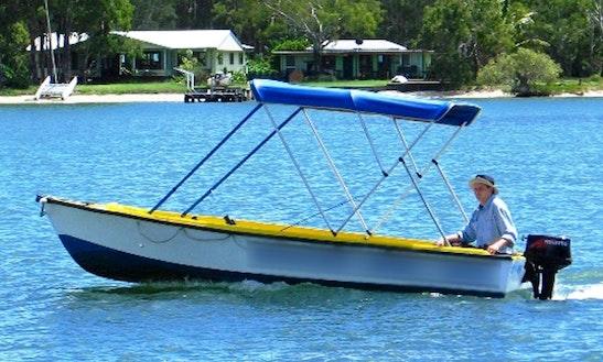Captained Runabout Power Boat Hire In Noosaville, Queensland, Australia