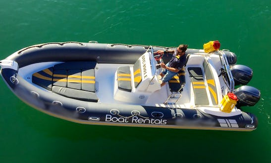 Rent The Foxtrot Rib For 12 Person In Cape Town, South Africa