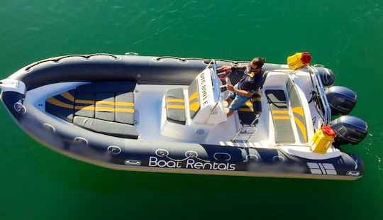 Rent The Foxtrot Rib For 12 Persons In Cape Town, South Africa
