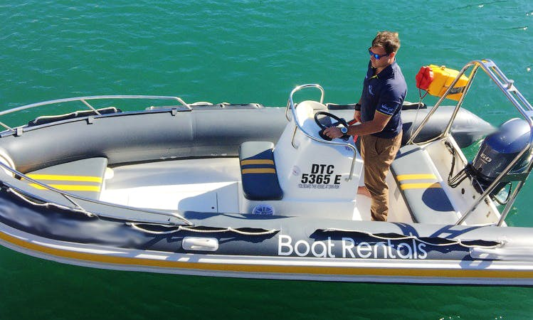 Hire a 17' Wildcraft RIB for 6 People in Cape Town, South Africa