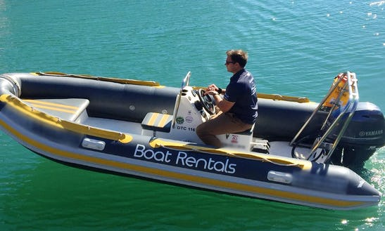 Boat Alpha 4.75m Rib With Single Ft60e Yamaha Outboard In Cape Town, South Africa