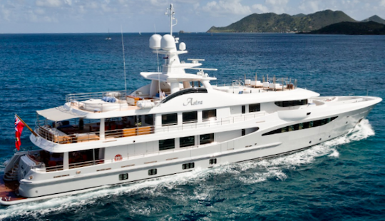 Charter 180' Astra Power Mega Yacht In Monaco