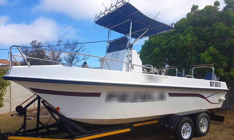 Enjoy Fishing in Western Cape, South Africa on Center Console