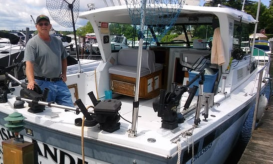 Inboard Propulsion Fishing Charter In Sodus Point, New York