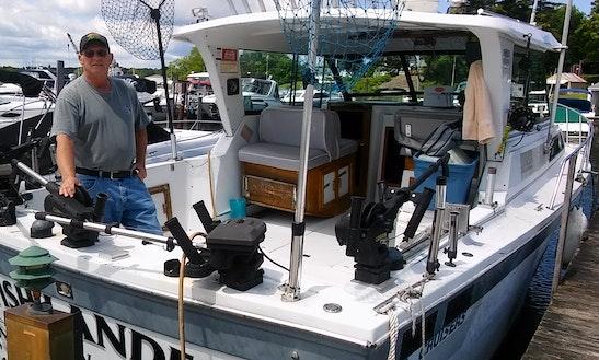 Inboard Propulsion Fishing Charter In Sodus Point