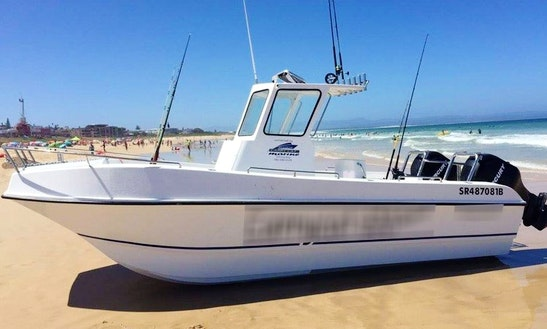 Enjoy Fishing In Cape Town, South Africa On Carrycat 670 Power Catamaran
