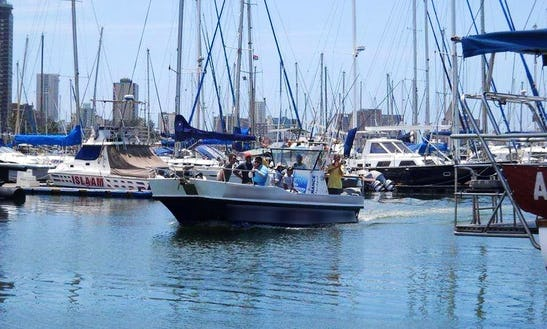 28' Fishing Trip Charter In Durban