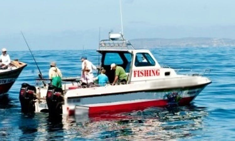 Fishing at Plettenberg Bay, Western Cape with Captain Patrick