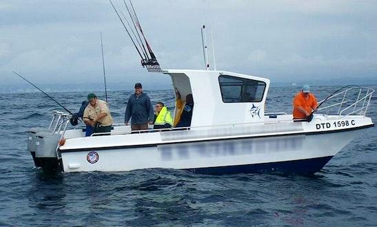 'lynski 4' Shark Fishing Charter In Durban
