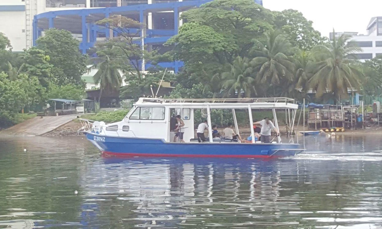 Enjoy Fishing in Singapore on fully equipped fishing charter