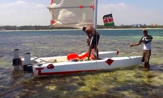 Rent a Beach Catamaran in Mombasa, Kenya