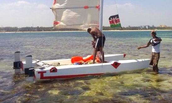 Rent A Beach Catamaran In Mombasa, Kenya