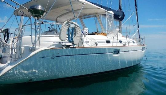 Charter 46' Beneteau Oceanis Sailing Yacht In Miami, Florida