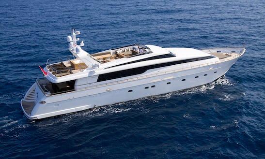 Crewed Charter This Admiral 35 Power Mega Yacht In Eivissa