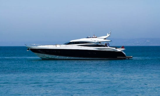 Charter A Princess V85 Power Mega Yacht In Athina, Greece