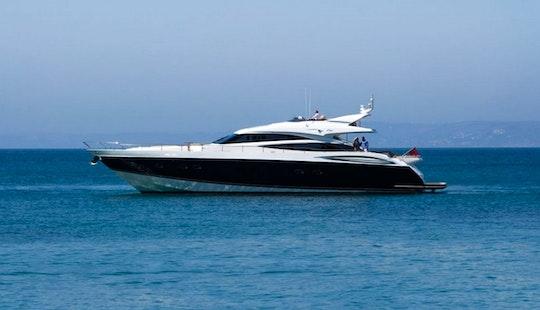 Charter A Princess V85 Power Mega Yacht In Athina, Greece