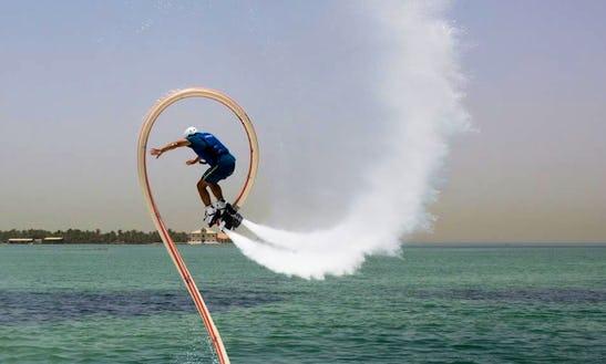 Enjoy Flyboarding In Budaiya, Bahrain