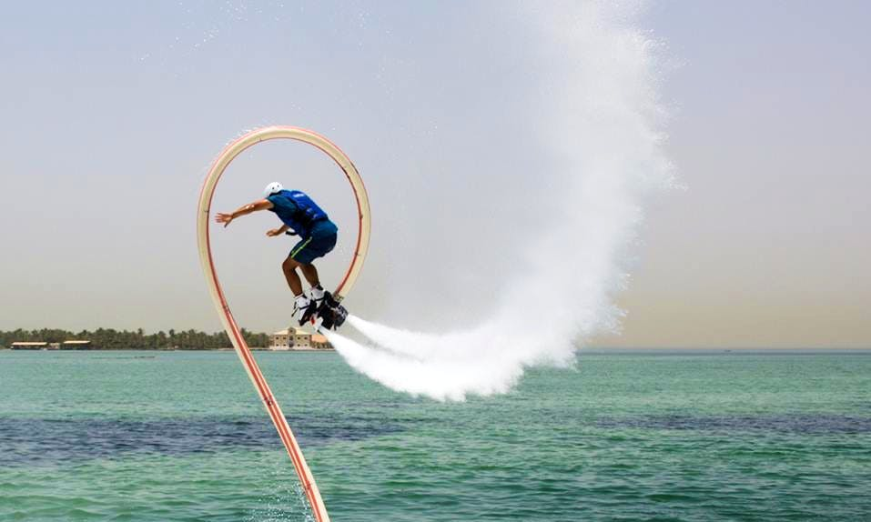 Enjoy Flyboarding in Budaiya, Bahrain