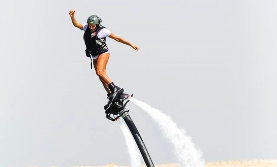 Flyboarding Over The Water!