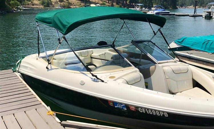 7-person Bowrider Boat Rental In Hensley Lake, California
