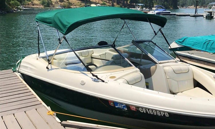 7-person Bowrider Boat Rental In Pine Flat Lake, California