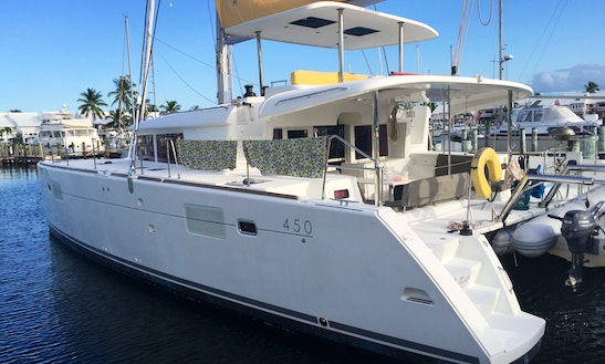 Cruising Catamaran Available Starting July 1 - Great For Captained Day Charters Or Bareboat.