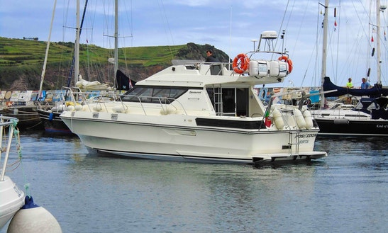 Motor Yacht For Rent In Horta