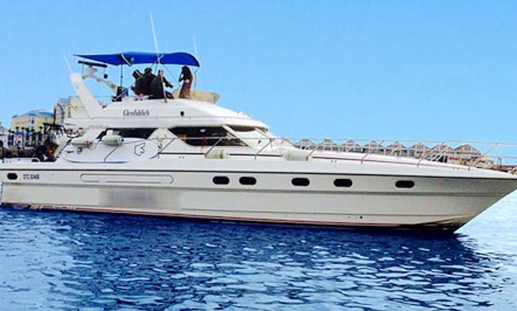 """Charter """"La Famiglia"""" Motor Yacht in Cape Town, South Africa"""