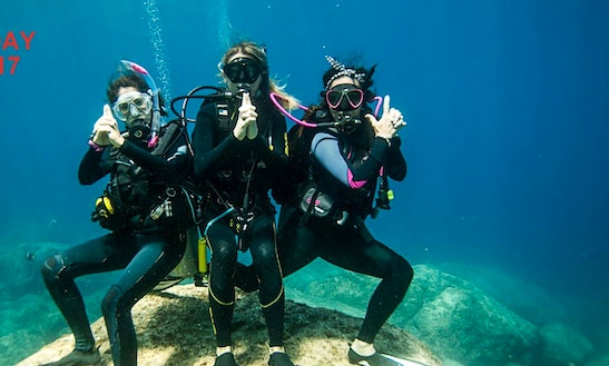 Enjoy Diving Trips And Courses In Budva, Montenegro