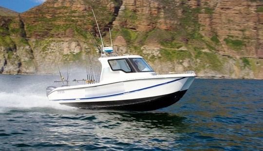 Captained 28' Fishing Yacht Charter In Cape Town, Western Cape, South Africa