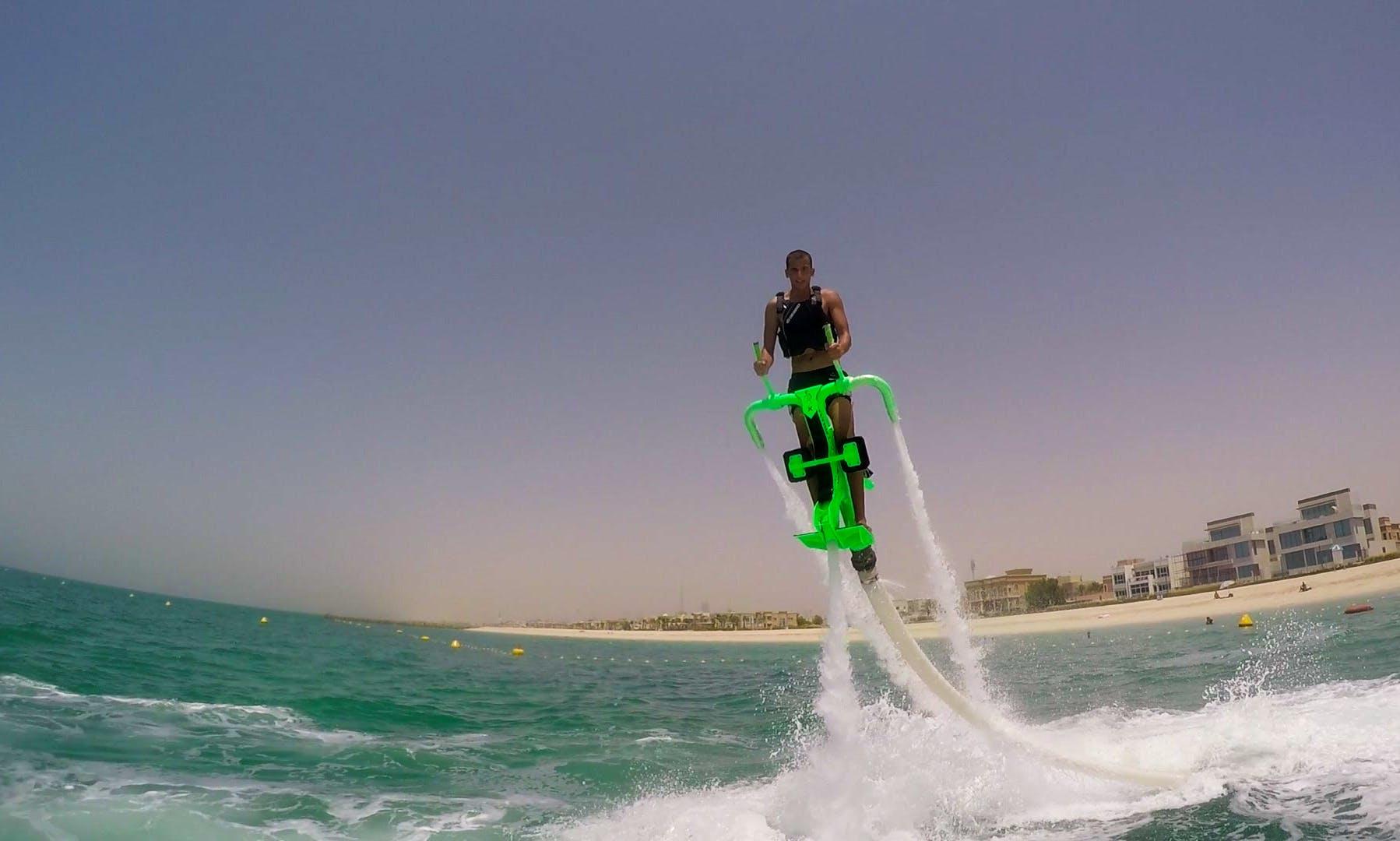 Flyboarding Adventure in Dubai, UAE