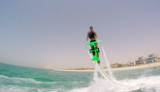 Flyboarding Adventure In Dubai, Uae