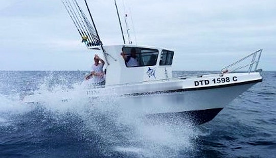 Experience Fishing On 'lynski 5' In Durban