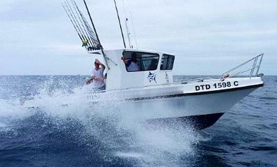 Experience Fishing On 'lynski 5' In Durban