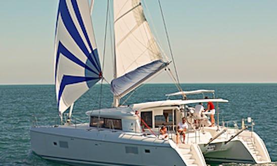 Charter A 42' Lagoon Cruising Catamaran In Muğla, Turkey
