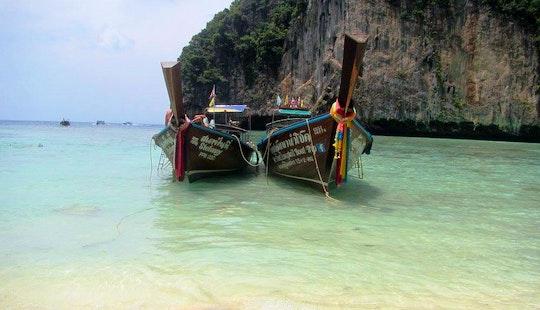 Charter A Longtail Boat In Tambon Pak Nam, Krabi
